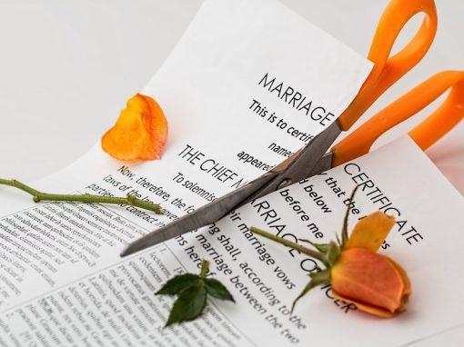 Disolución de Matrimonio
